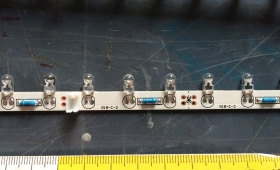 LED-Stripes 12V warmweiß, 6 Stück